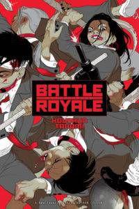 Battle Royale cover - Koushun Takami