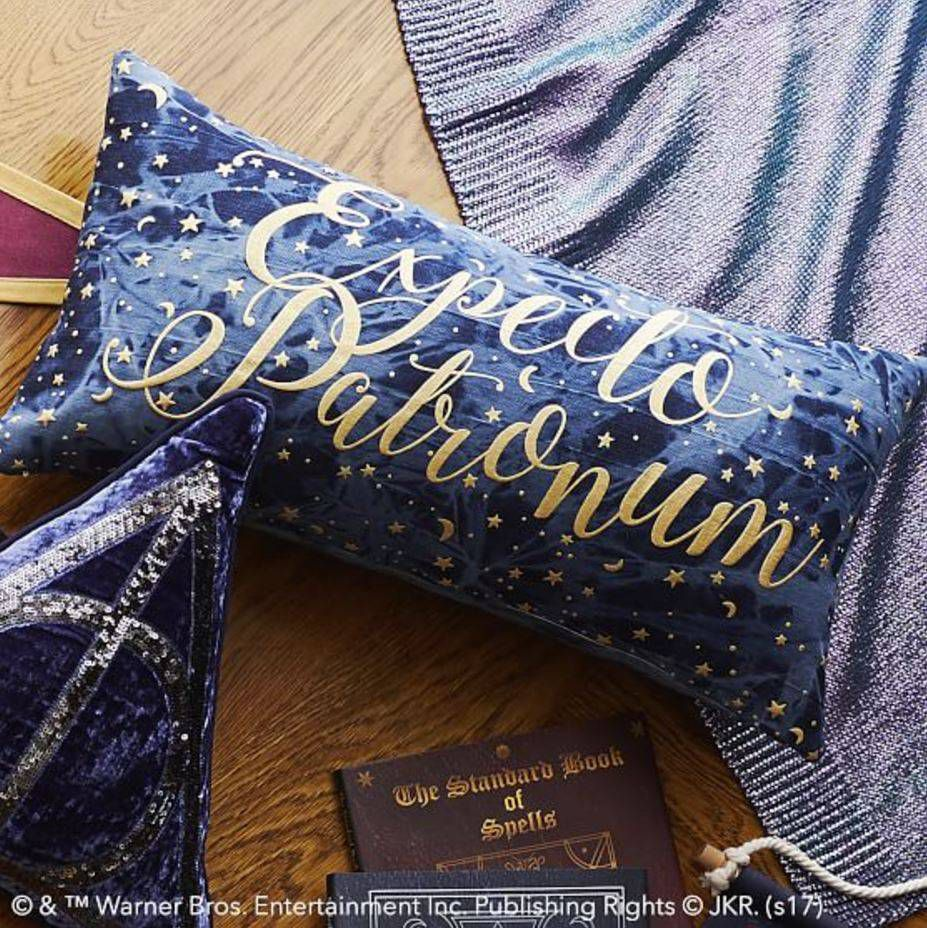 expecto patronum pillow