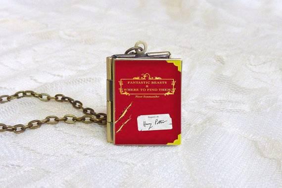 Stag Locket Key Ring