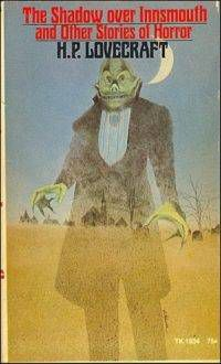 Book cover for H. P. Lovecraft's The Shadow Over Innsmouth