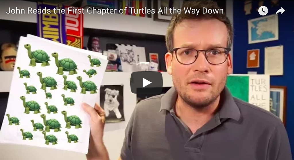 john green turtles all the way down