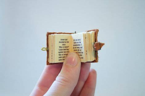 books tiny very miniature mini libraries pages