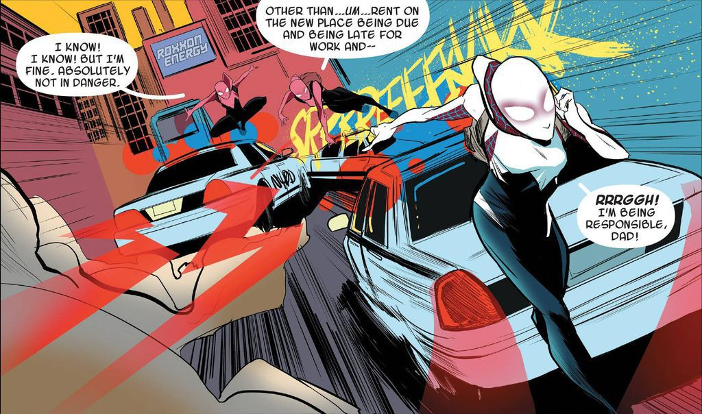 Spider-Gwen from 15 Superpowered Ladies to Fangirl Over | BookRiot.com