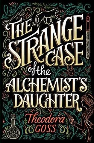 strange case of the alchemist's daughter cover