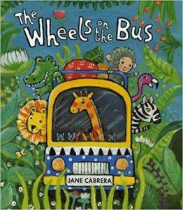 The Wheels on the Bus by Jane Cabrera