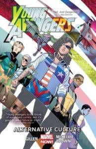 young avengers vol 2 alternative culture