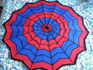 Spiderman Blanket by Anne M