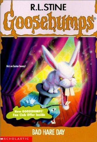 Bad Hare Day From R.L. Stine Covers: When Animals Attack | BookRiot.com