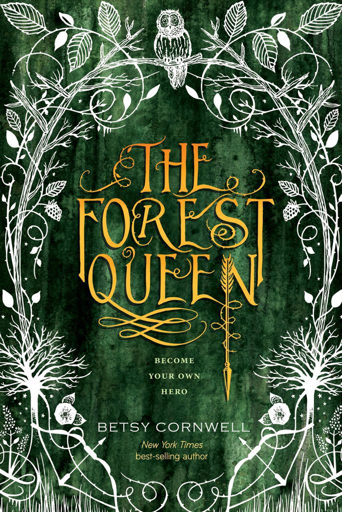 Cover Reveal: FOREST QUEEN by Betsy Cornwell | BookRiot.com