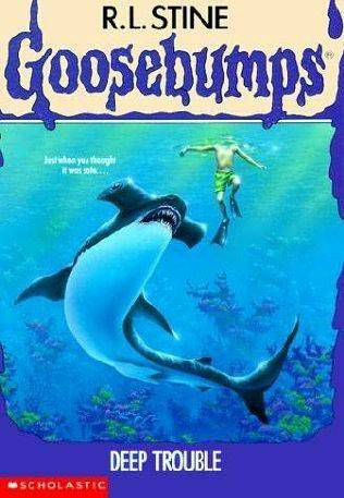 Deep Trouble From R.L. Stine Covers: When Animals Attack | BookRiot.com