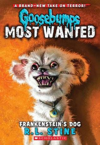 Frakenstein's Dog From R.L. Stine Covers: When Animals Attack | BookRiot.com