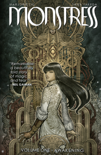 Monstress by Marjorie Liu and Sana Takeda book cover