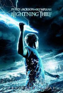 Percy Jackson and the Lightning Thief book cover