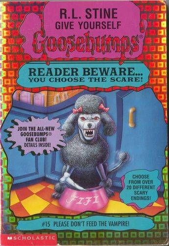 R.L. Stine Covers: When Animals Attack | BookRiot.com