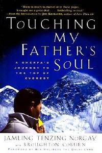 Touching My Fathers Soul by Jamling Tenzing Norgay Cover