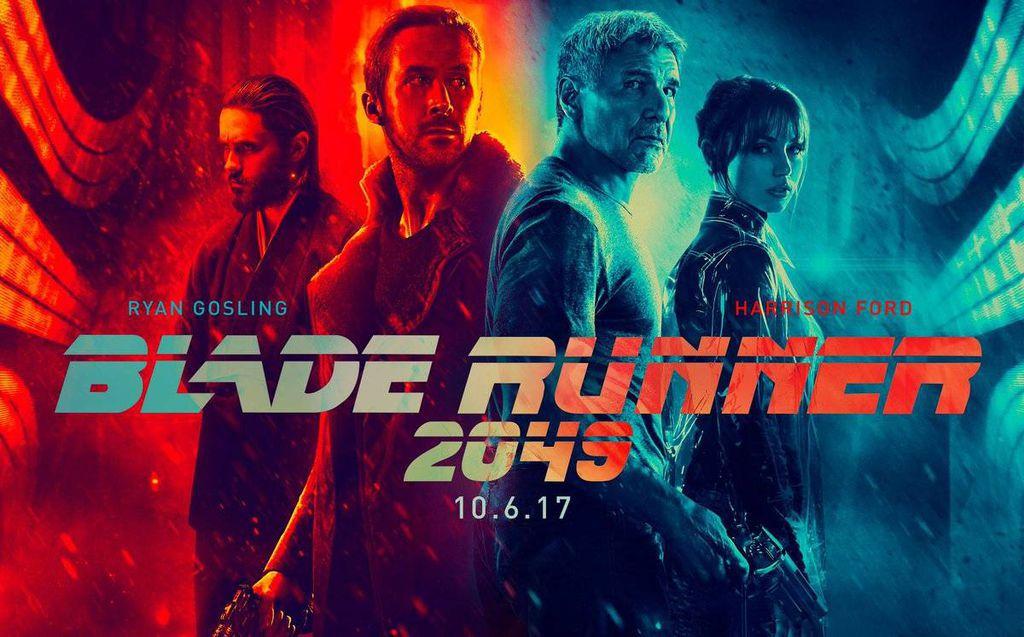 Blade Runner 2049 Movie Poster from Your Post Blade Runner 2019 Cyberpunk Fix | Bookriot.com