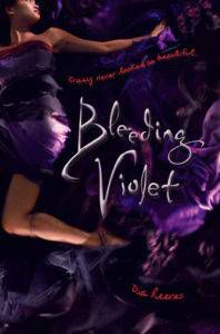 cover image bleeding violet by dia reeves