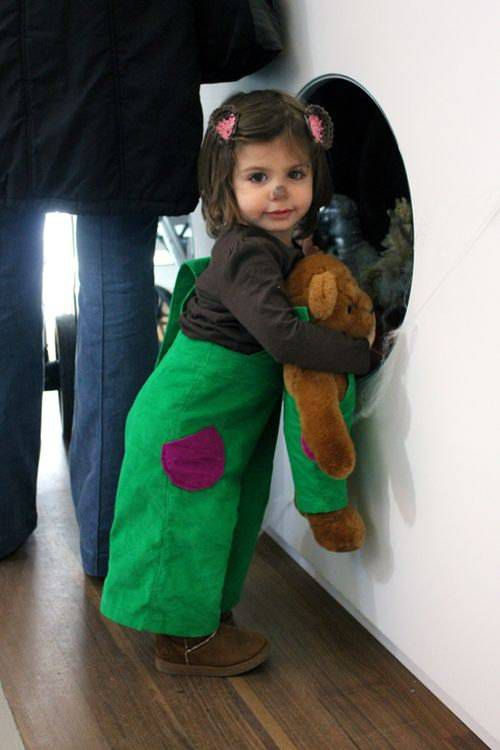 Corduroy Bear costume from 9 Bookish Kids' Costumes for Halloween (or Character Day) | BookRiot.com