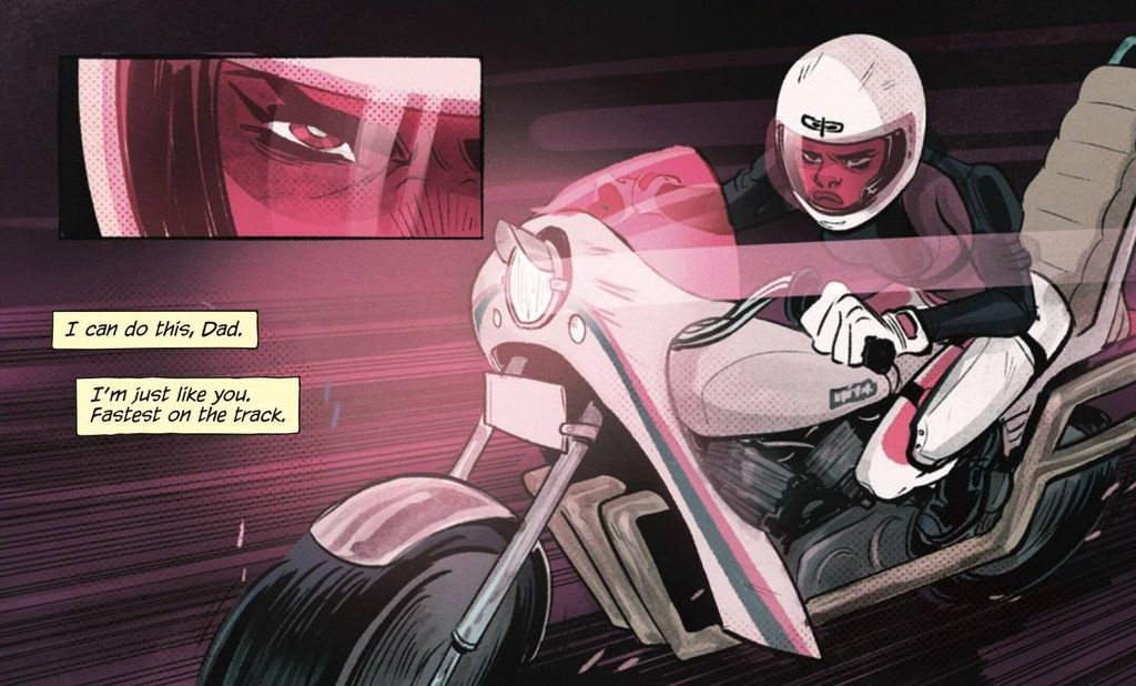 Motor Crush Panel from Sci-fi and Fantasy Comics to Cure Your Superhero Hangover | Bookriot.com