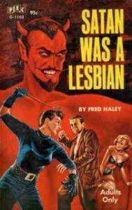 Satan Was a Lesbian pulp cover