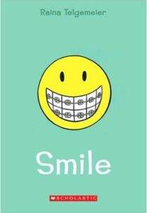 smile raina telgemeier book cover