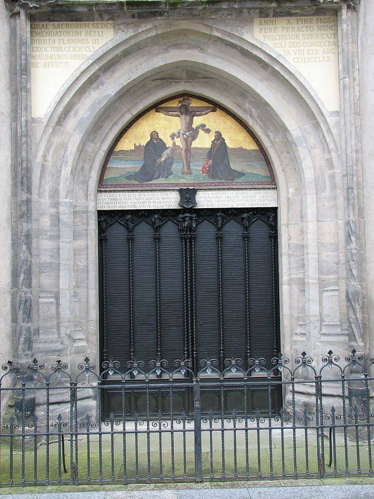 Commemorative Doors at the All Saints' Church in Wittenburg