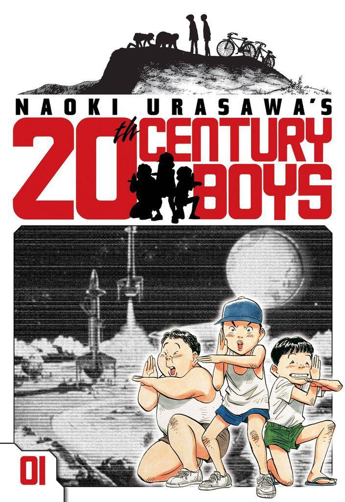 Cover of 20th Century Boys by Naoki Urasawa
