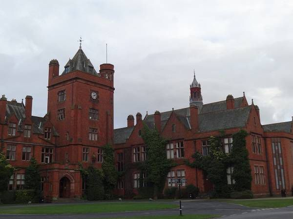 Campbell College, the Belfast boarding school C.S. Lewis attended - part of the C.S. Lewis trail in Belfast