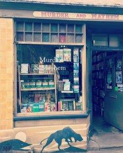 Hay-on-Wye, town of books: Murder & Mayhem shop