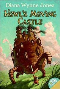 Howl's Moving Castle by Diana Wynne Jones Book Cover