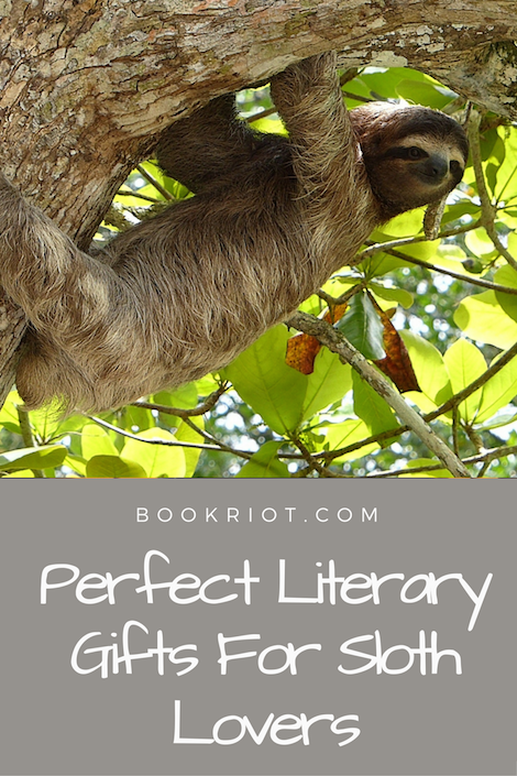 Literary Gifts for Sloth Lovers