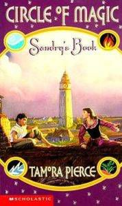Sandry's_book by Tamora Pierce Circle of Magic best full-cast audiobooks