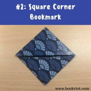 I Love The Square Origami Bookmark Because It Gives You A Little More Space To Decorate