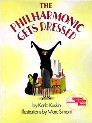 The Philharmonic Gets Dressed book cover