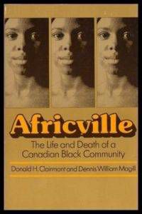 africville the life and death of a canadian black community