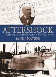 aftershock by janet maybee cover image