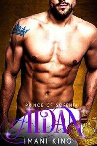 aidan prince of sorenia by imani king cover image