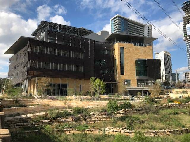 Austin's New Central Library Outside View