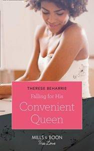falling for his convenient queen by therese beharrie cover image