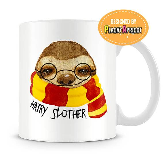 Did I mention there would be more Harry Potter themed sloth gifts? This one is the punniest.