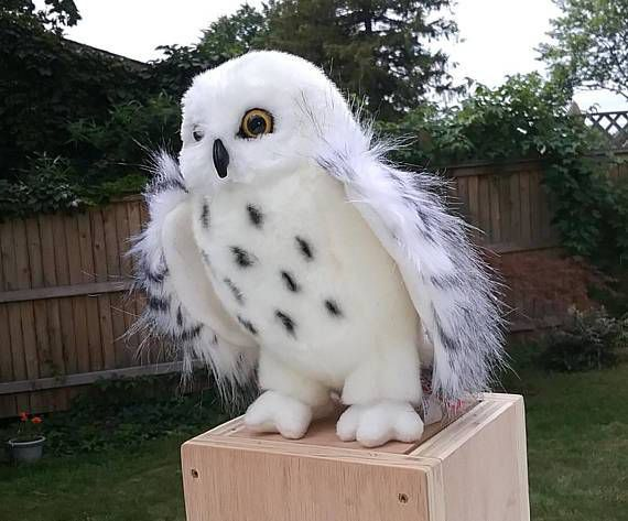 Hedwig from Harry Potter Stuffed Animals | BookRiot.com