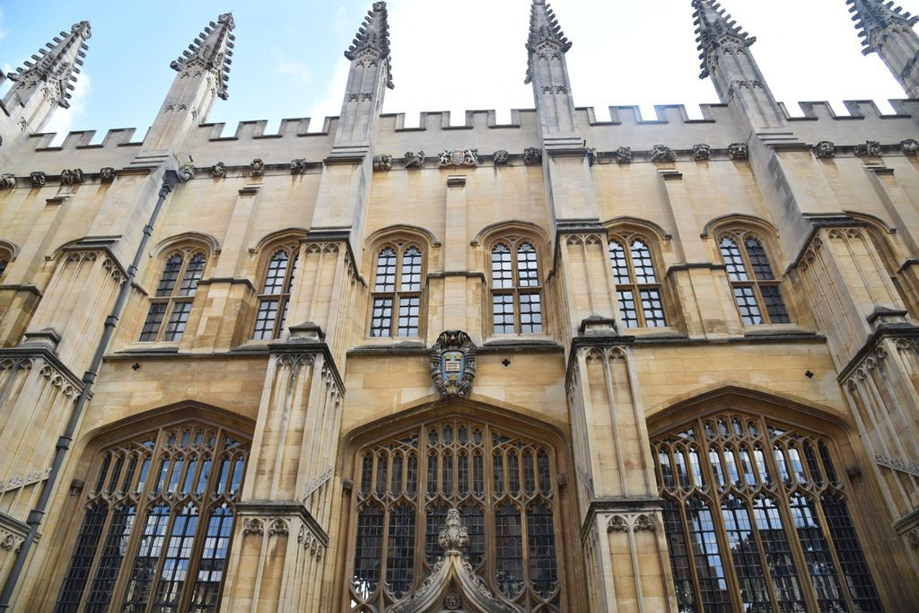 Exterior of the Oxford Bodleian Library