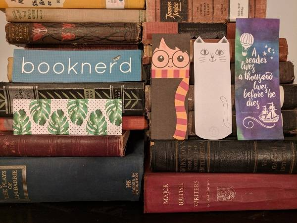 graphic regarding Cute Printable Bookmarks identified as 50 No cost Printable Bookmarks for Grown ups and Youngsters Bookish