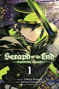 seraph of the end volume 1 cover