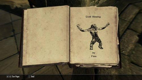 Being a Bookworm in Skyrim