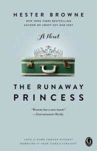 the runaway princess by hester browne cover image