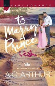 to marry a prince by ac arthur cover image