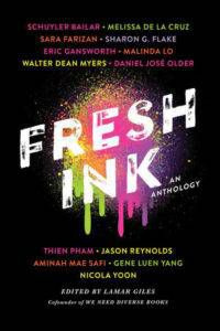 fresh ink edited by lamar giles book cover