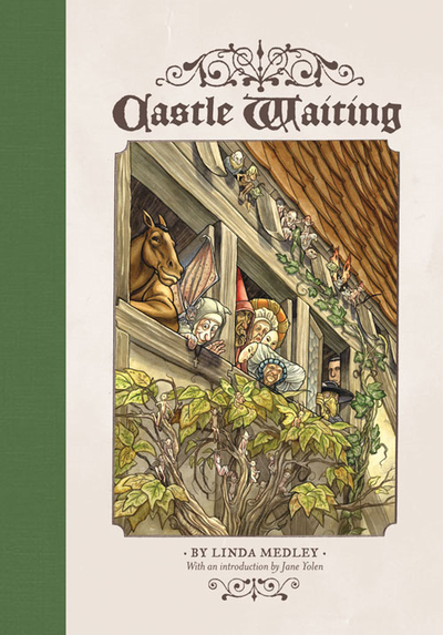 Cover of Linda Medley and Castle Waiting