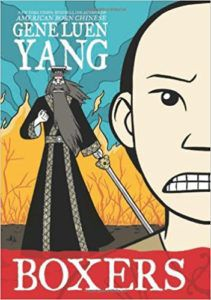 Cover of Boxers - Gene Luen Yang